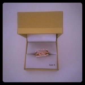 Charter Club Gold-Tone strap ring size 8